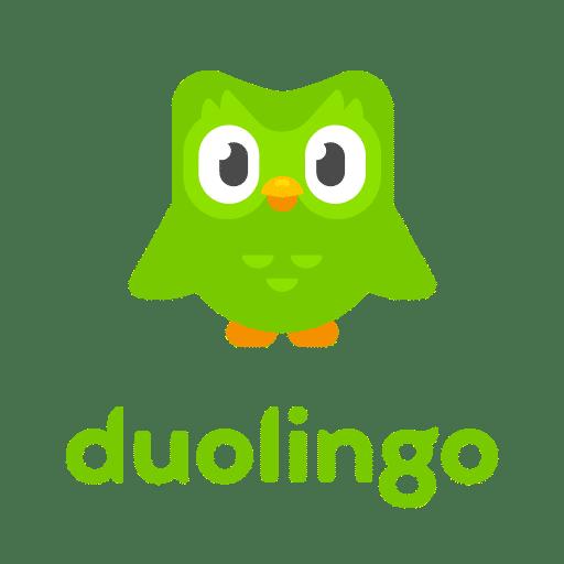 لوگوی آزمون دولینگو Duolingo