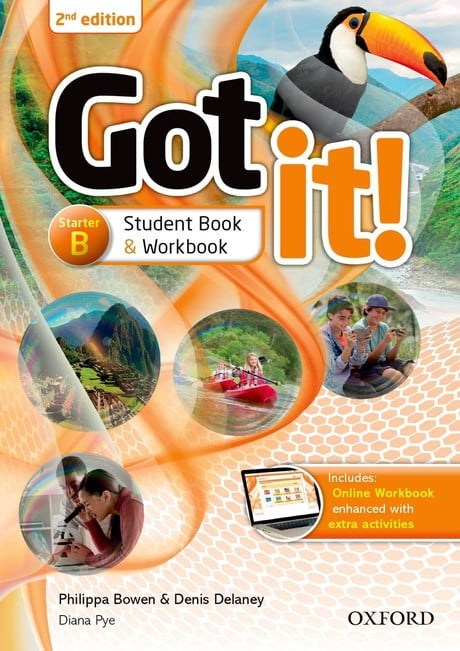 جلد کتاب انگلیسی Got it استارتر آکسفورد