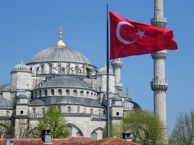 مسجد ایاصوفیه در ترکیه