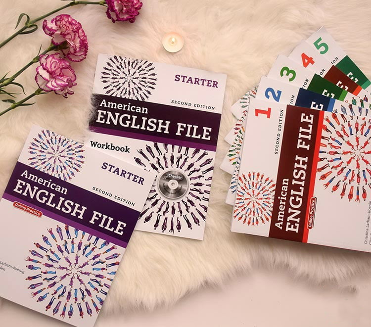 مجموعه کتابهای American-English-File