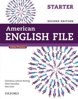 جلد کتاب زبان انگلیسی American English File starter