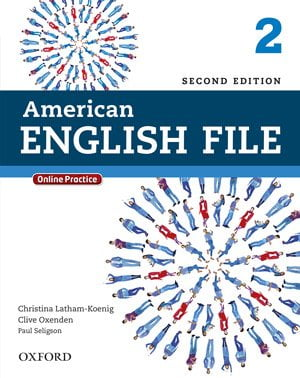 جلد کتاب زبان انگلیسی American English File book 2