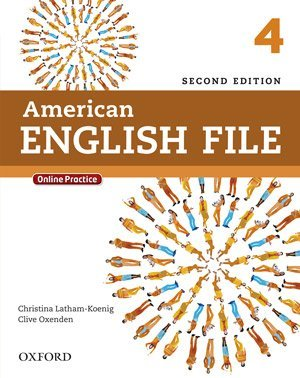 جلد کتاب زبان انگلیسی American English File book 4