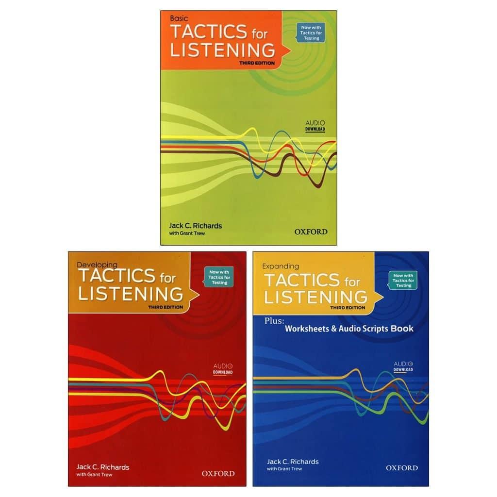مجموعه کتابهای Tactise